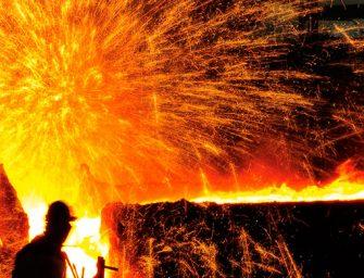 A crise que abalou a siderurgia